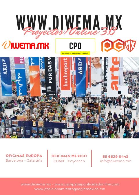 DIWEMA DISEÑO WEB EXPOS Y CONGRESOS EN MEXICO
